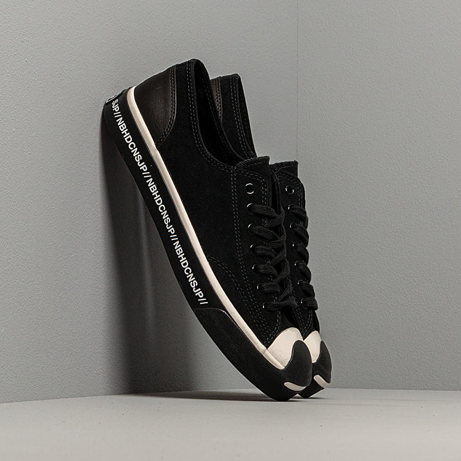Converse x Neighborhood Jack Purcell OX Black/ Egret/ Black EUR 42.5