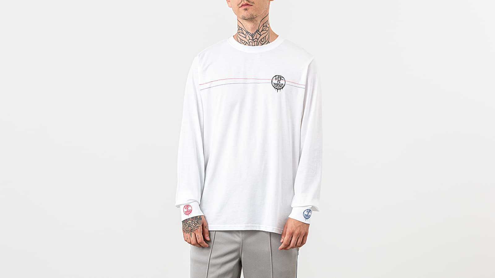 Life Is Porno VBVP Long Sleeve Tee