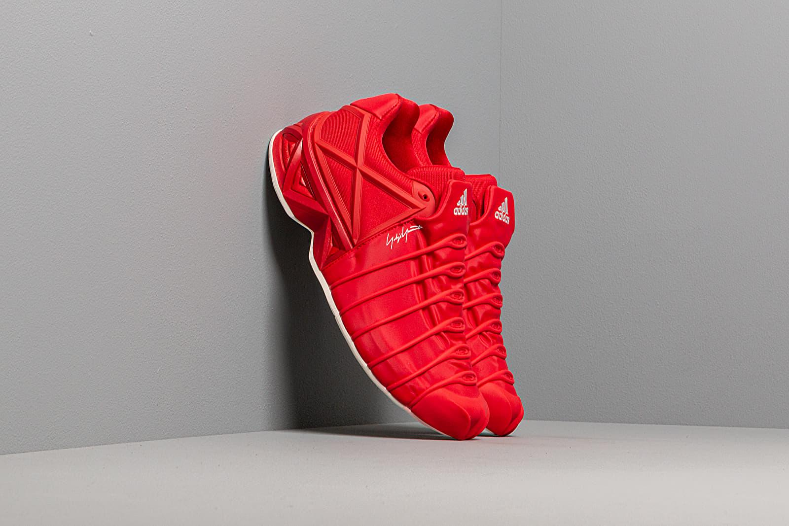 Men's shoes Y-3 Yuuto Yohji Red-Y3/ Yohji Red-Y3/ Ftwr White