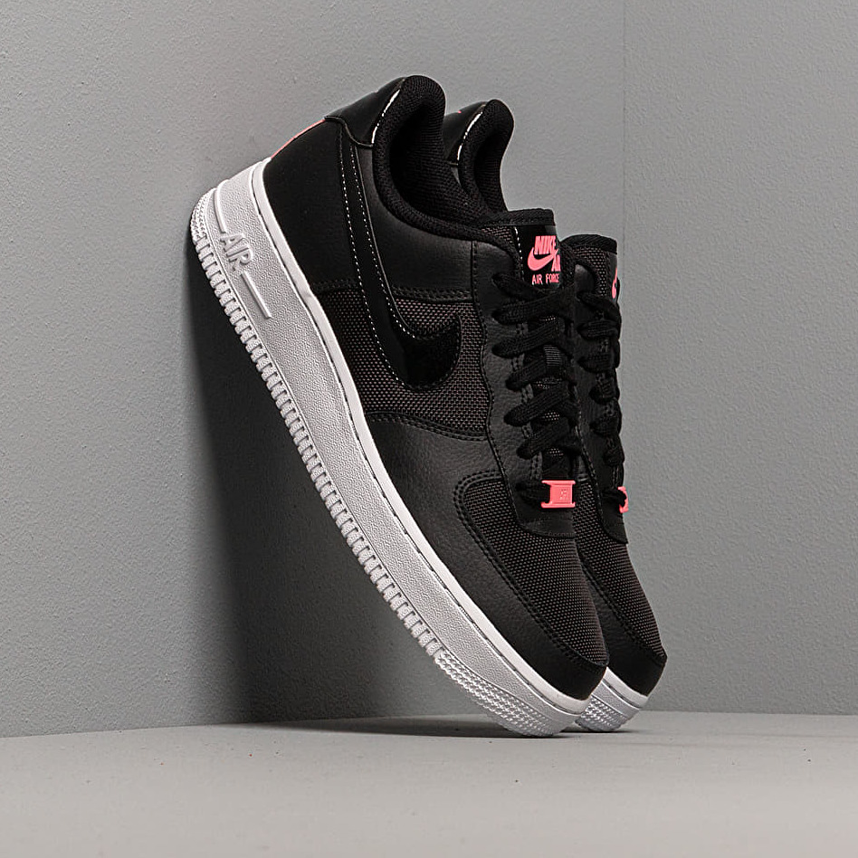 Nike Wmns Air Force 1 Lo Black/ Black-Sunset Pulse-White EUR 40.5