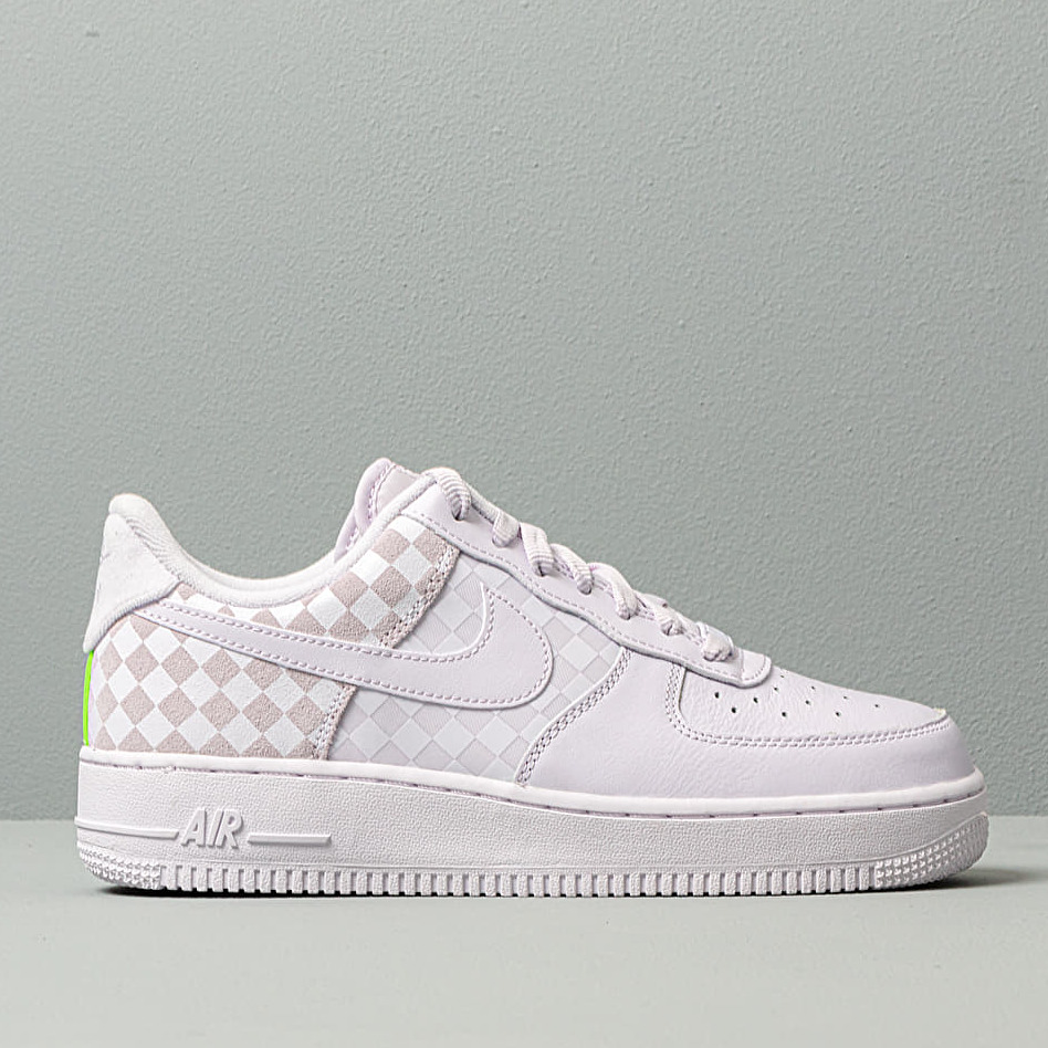 Nike W Air Force 1 Low Barely Grape/ Barely Grape, Purple