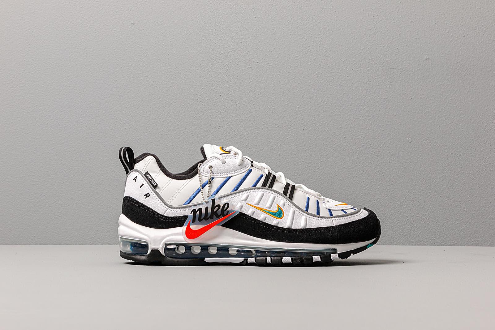 Women S Shoes Nike Wmns Air Max 98 Premium White Teal Nebula