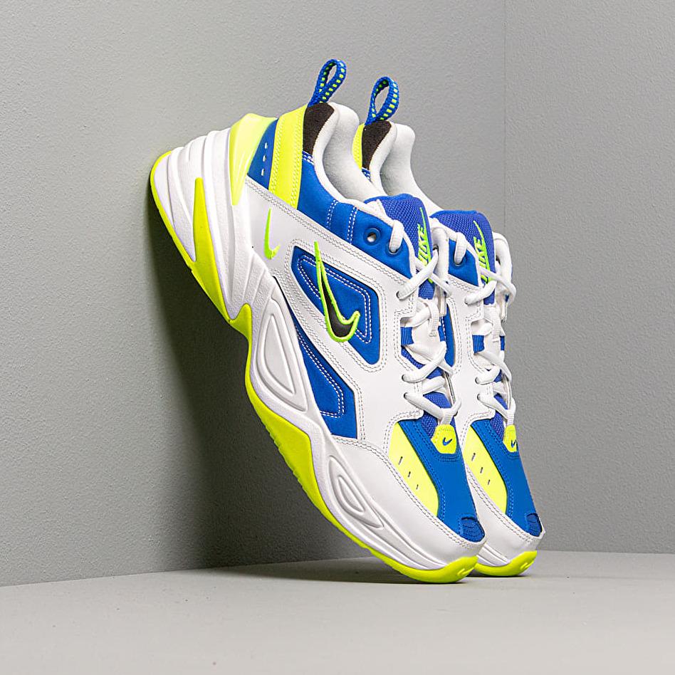 Nike M2K Tekno White/ Black-Volt-Racer Blue EUR 43