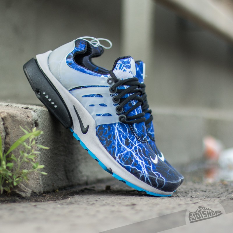 70cb7fd1769 Nike Air Presto QS Black Black-Zen Grey-Harbor Blue