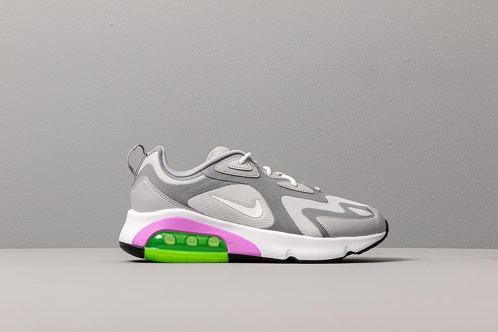 Nike W Air Max 200Pure Platinum White Cool Grey Wolf Grey