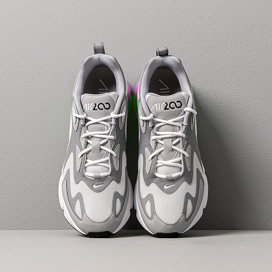 Nike W Air Max 200 Pure Platinum/ White-Cool Grey-Wolf Grey, Gray