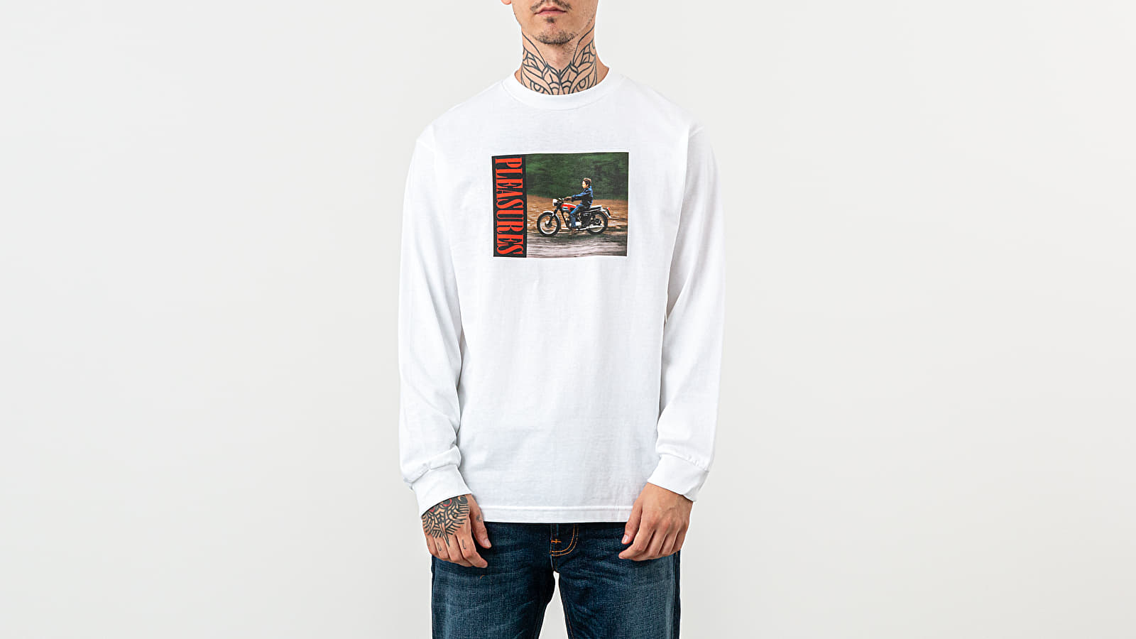 PLEASURES x Bob Dylan Ride Longsleeve Tee