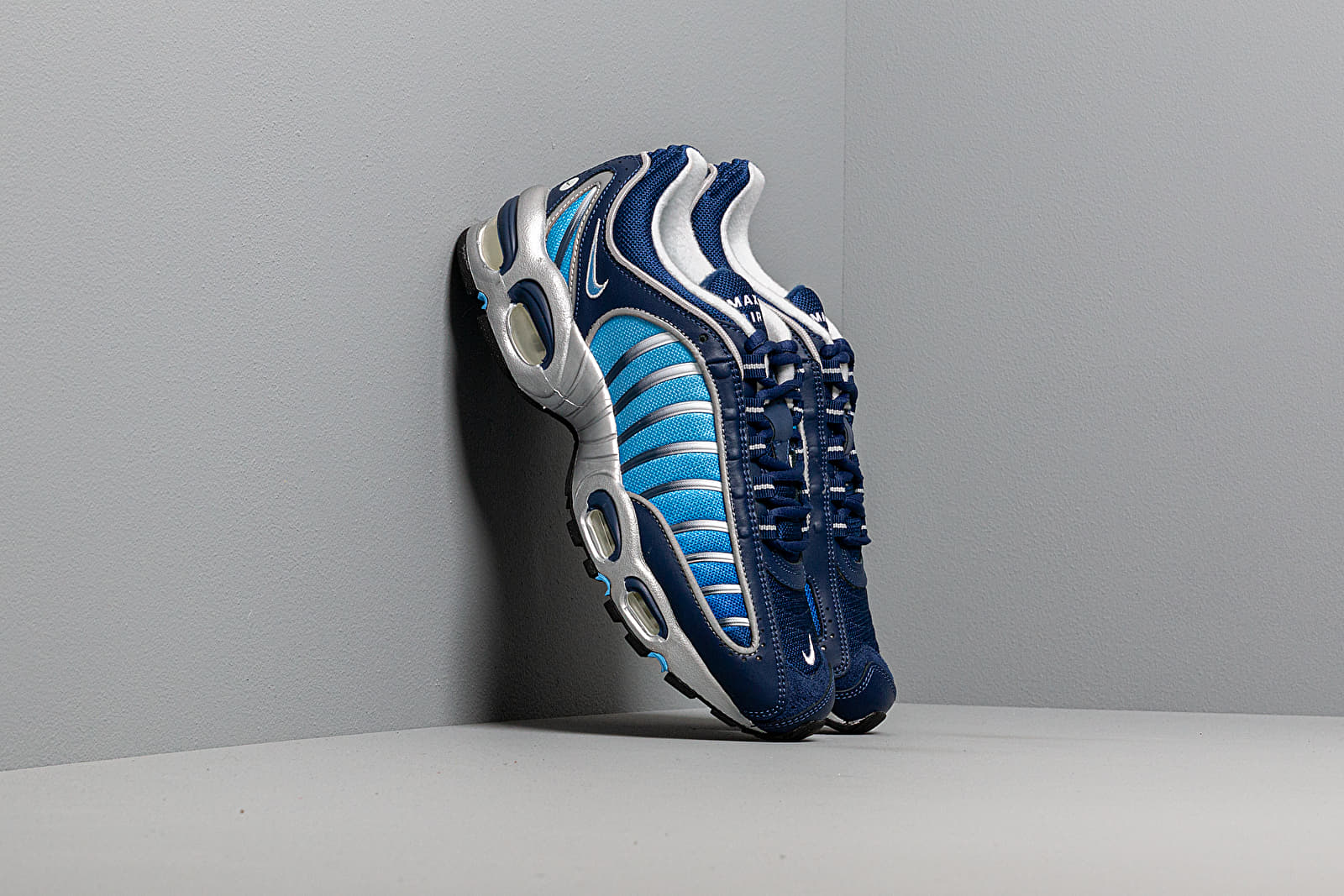Men's shoes Nike Air Max Tailwind IV Blue Void/ University Blue-White-Black