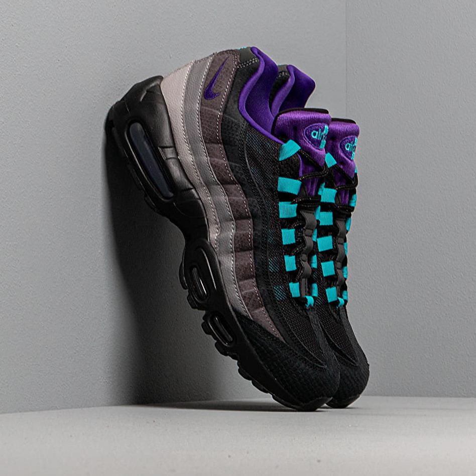 Nike Air Max 95 Lv8 Black/ Court Purple-Teal Nebula EUR 43