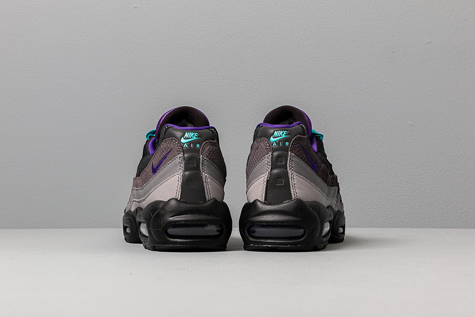 Nike Air Max 95 LV8 BlackCourt PurpleTeal Nebula