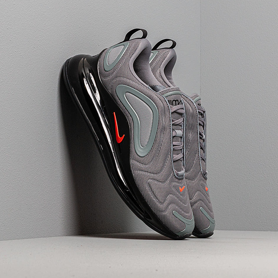 Nike Air Max 720 Cool Grey/ Bright Crimson-Black EUR 43