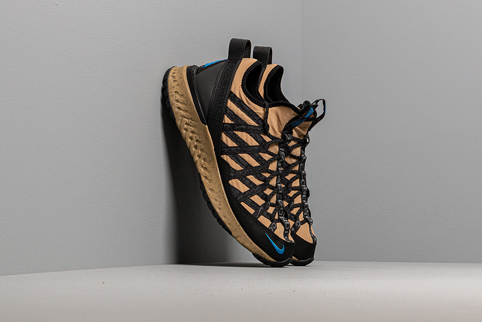 Ανδρικά παπούτσια Nike ACG React Terra Gobe Parachute Beige/ Light Photo Blue-Black