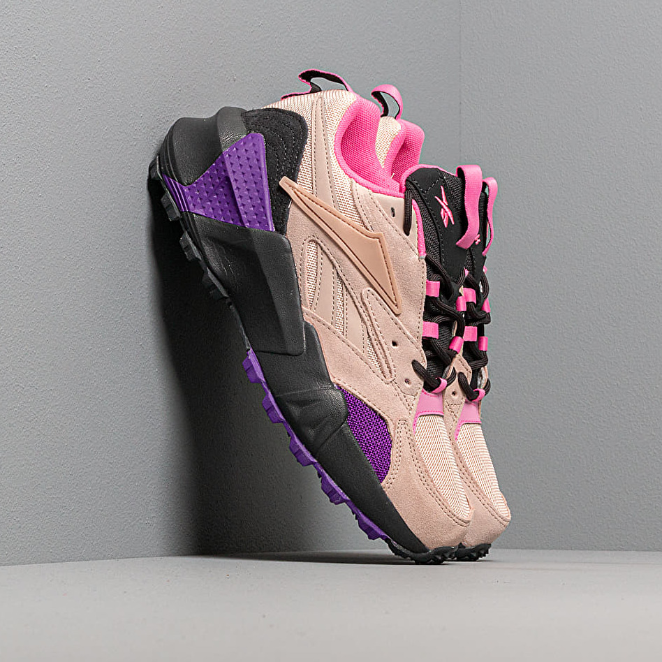 Reebok Aztrek Double Mix Trail Buff/ Trace Grey 8/ Regular Purple, Multicolour