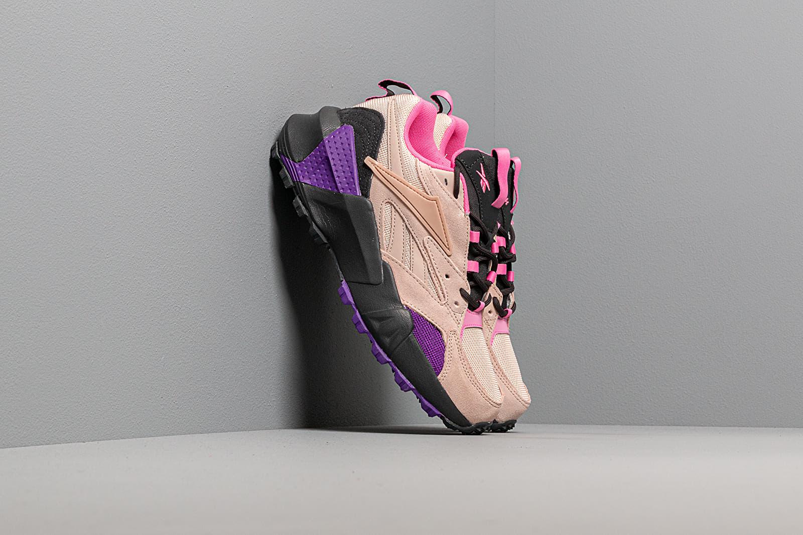 Zapatillas mujer Reebok Aztrek Double Mix Trail Buff/ Trace Grey 8/ Regular Purple