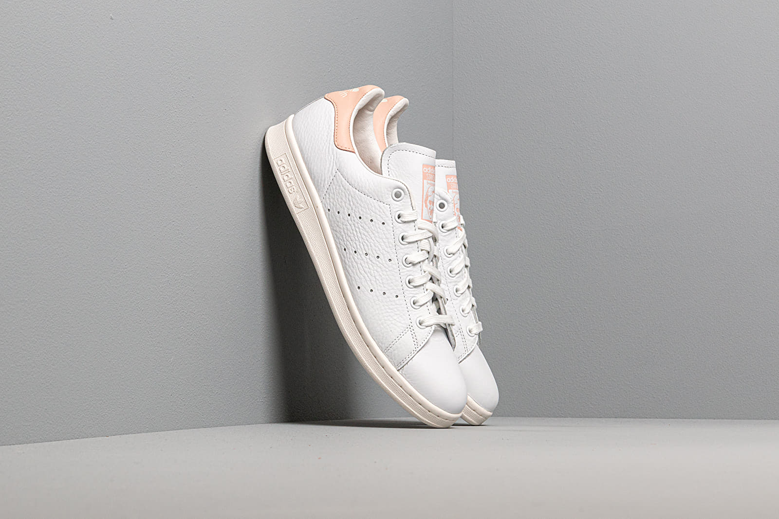 Férfi cipők adidas Stan Smith Ftw White/ Vapor Pink/ Off White