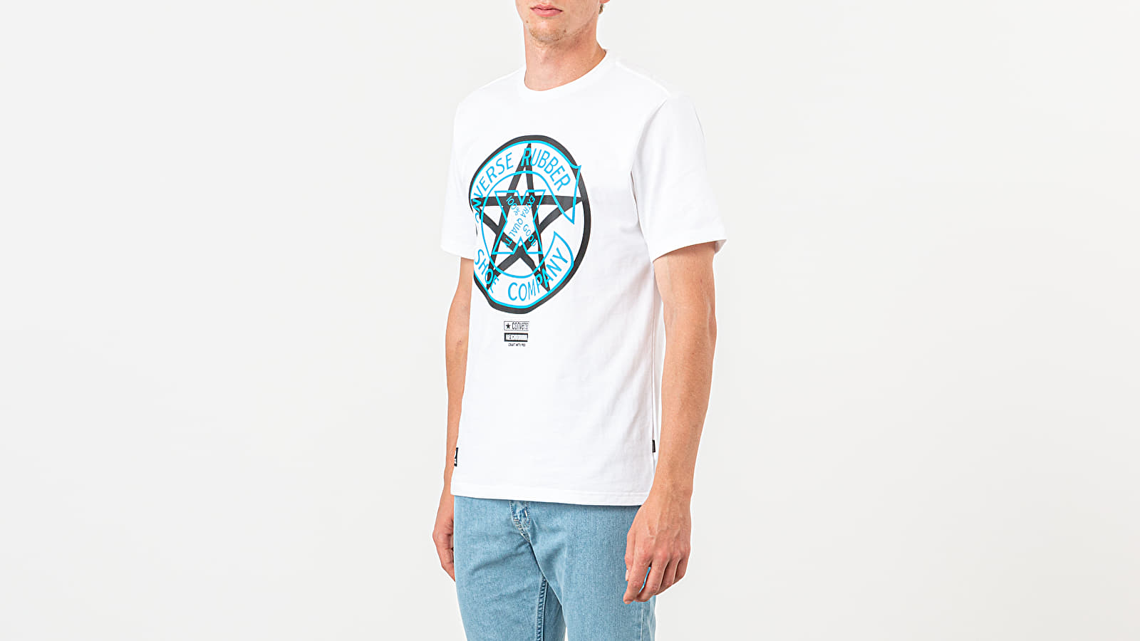 Pólók Converse x Neighborhood Tee White