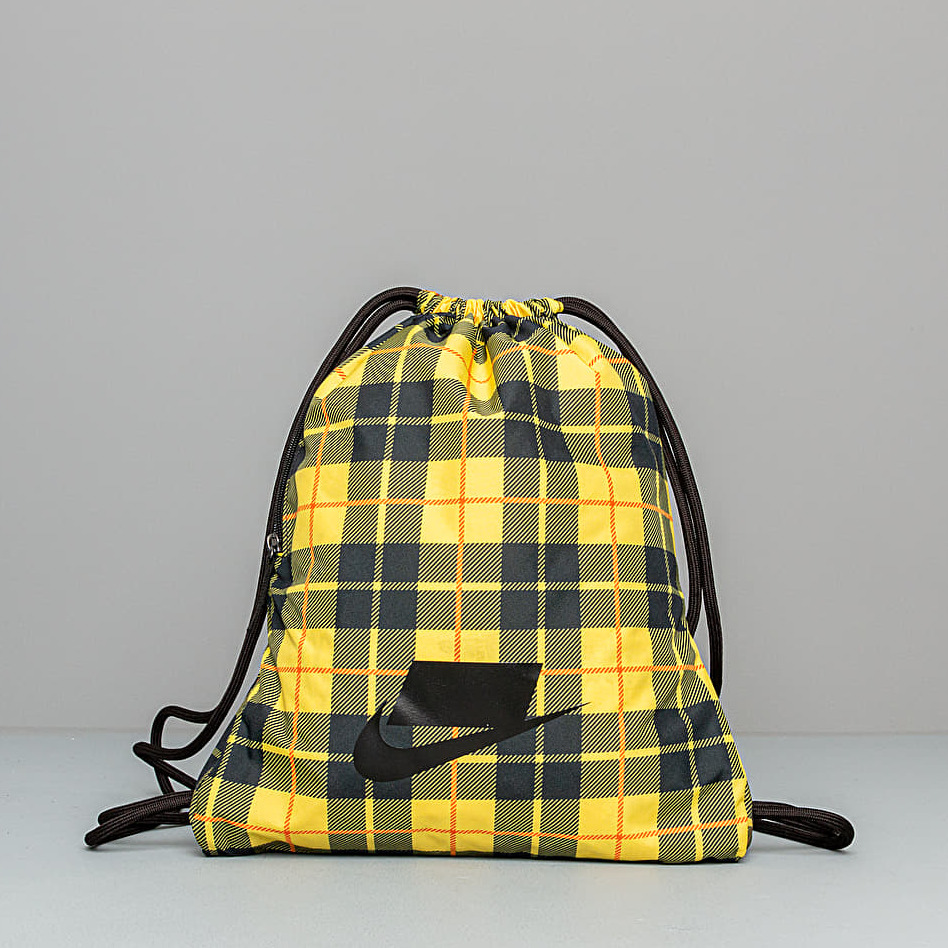 Nike Heritage Gymsack Chrome Yellow Black Black