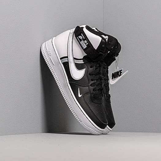 Nike Air Force 1 High Lv8 2 (GS) Black/ White-Wolf Grey ...