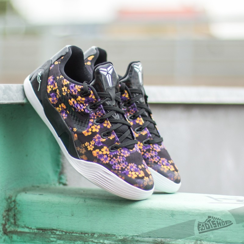 buy popular fa3b7 99711 ... spain nike kobe ix em qs gs black black court purple yellow 1044b 76eb7