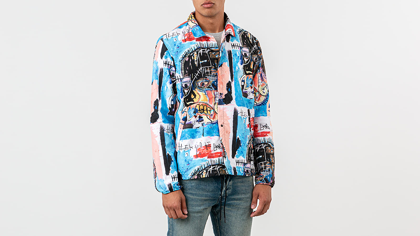 Herschel Supply Co. x Jean-Michel Basquiat Voyage Coach Jacket