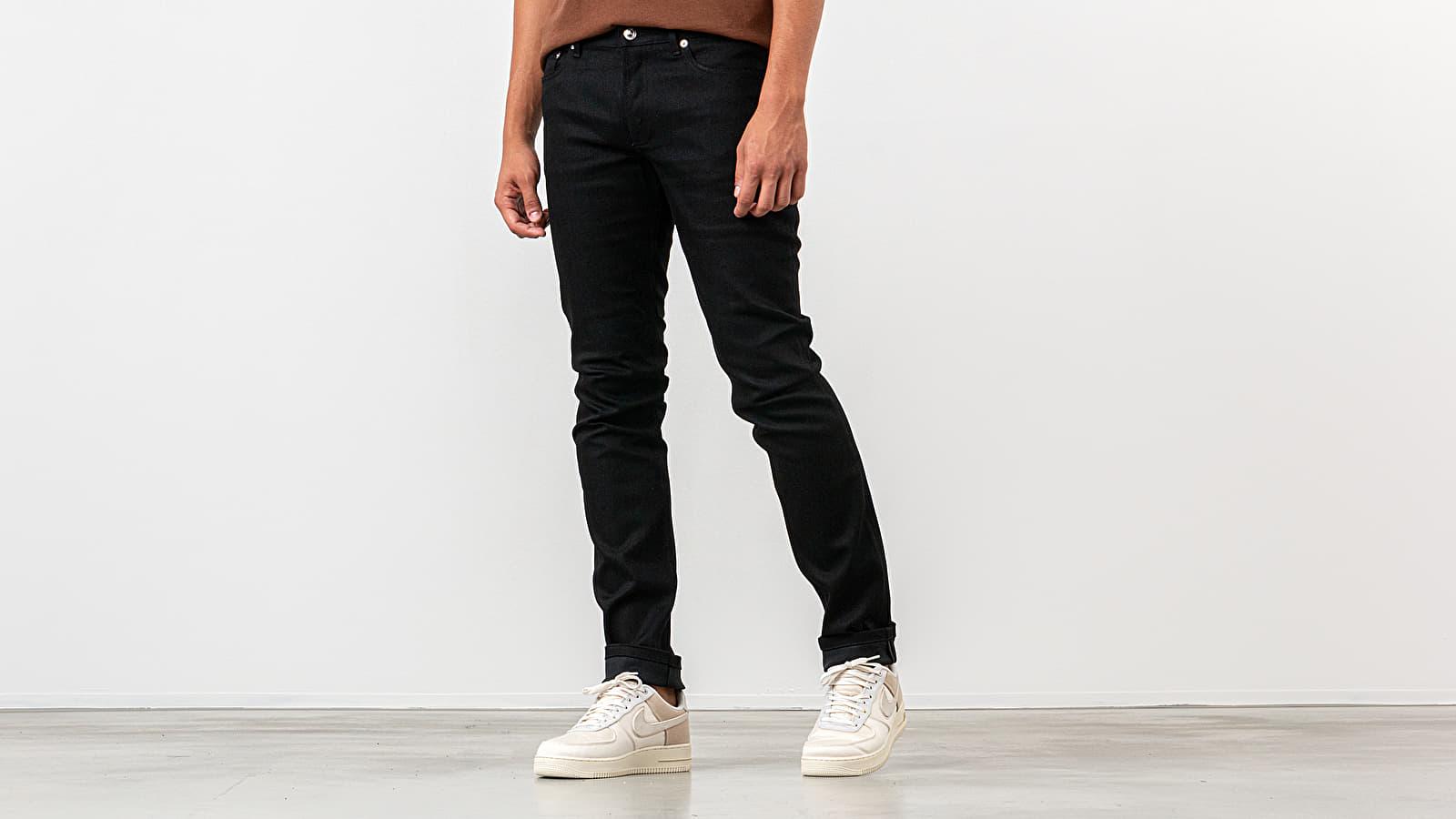 Džíny a kalhoty A.P.C. Petit Standard Jeans Black