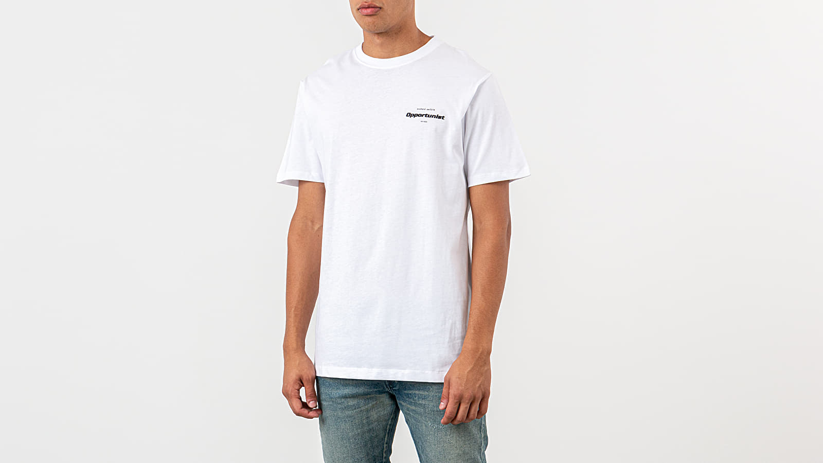 Magliette Soulland AW19 Olsson Tee White