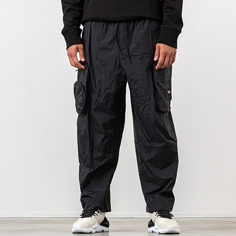 Y-3 Shell Track Pants Black