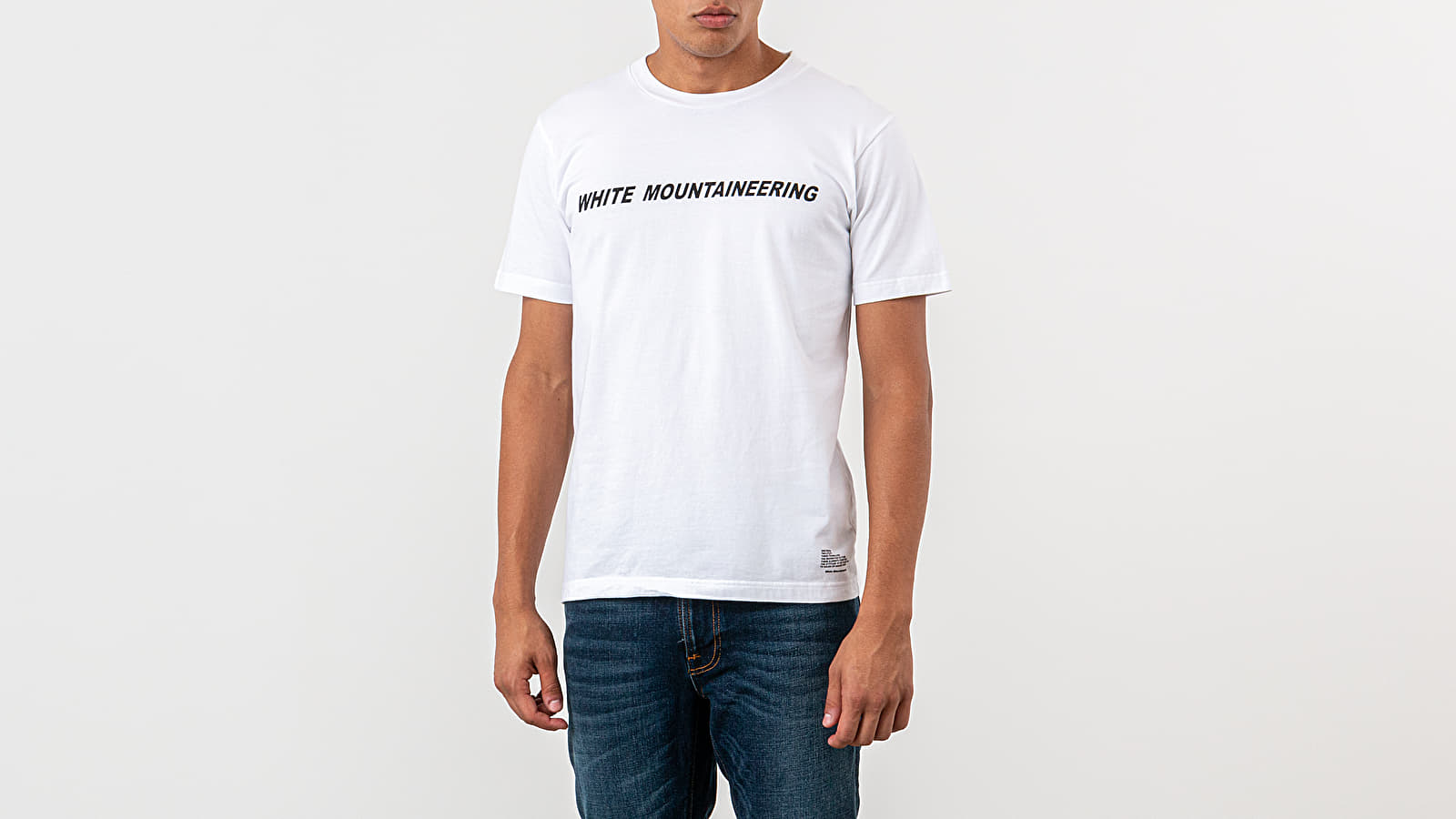 Camisetas White Mountaineering Printed Tee White