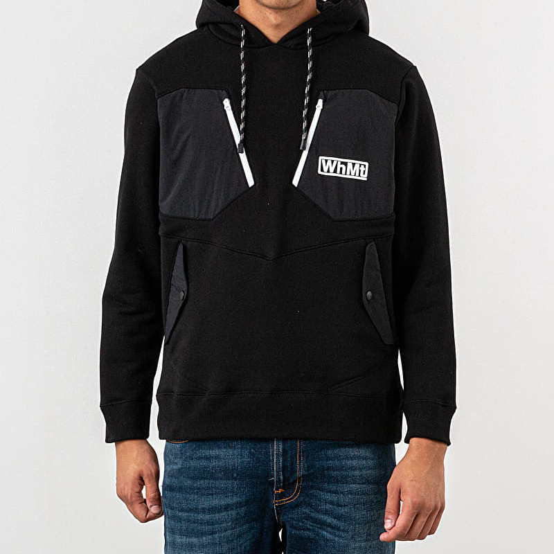 White Mountaineering Hoodie Black
