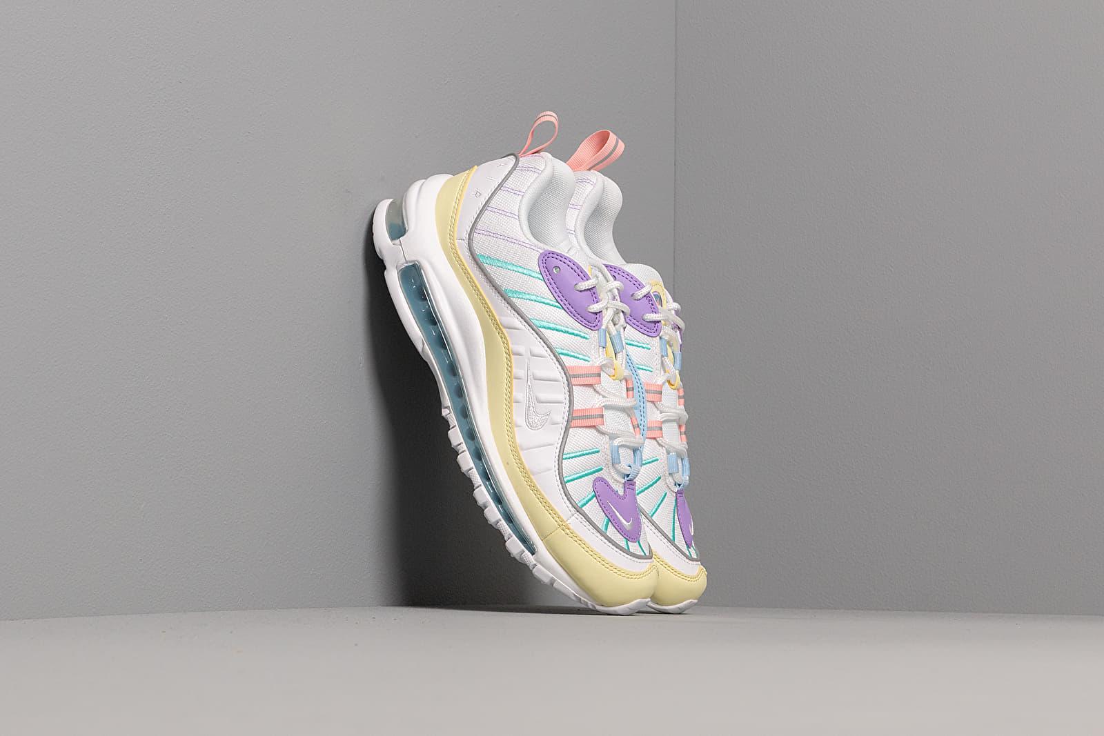 Nike W Air Max 98 Luminous Green White Atomic Violet | Footshop