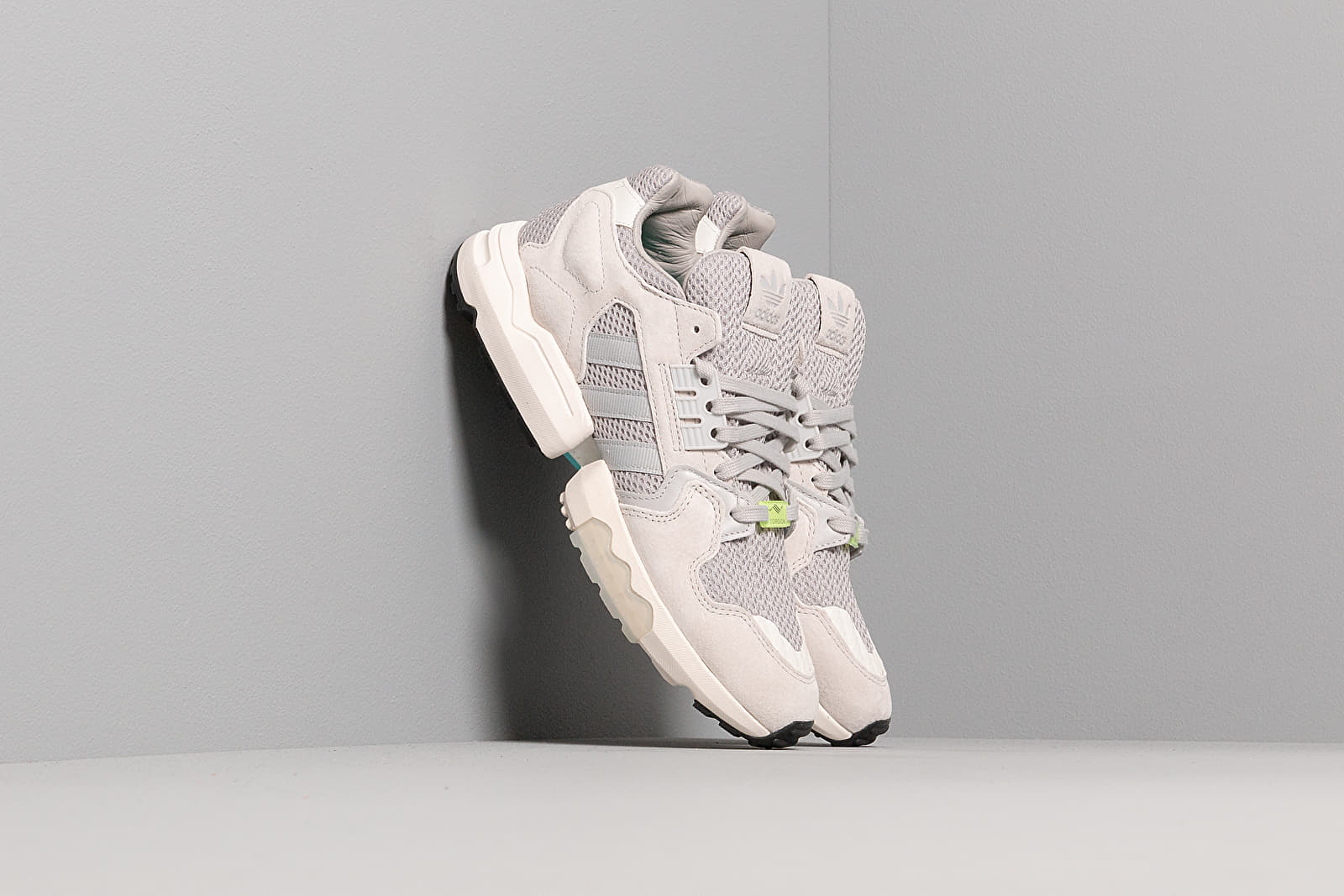 Men's shoes adidas ZX Torsion Grey Two/ Grey Two/ Core White