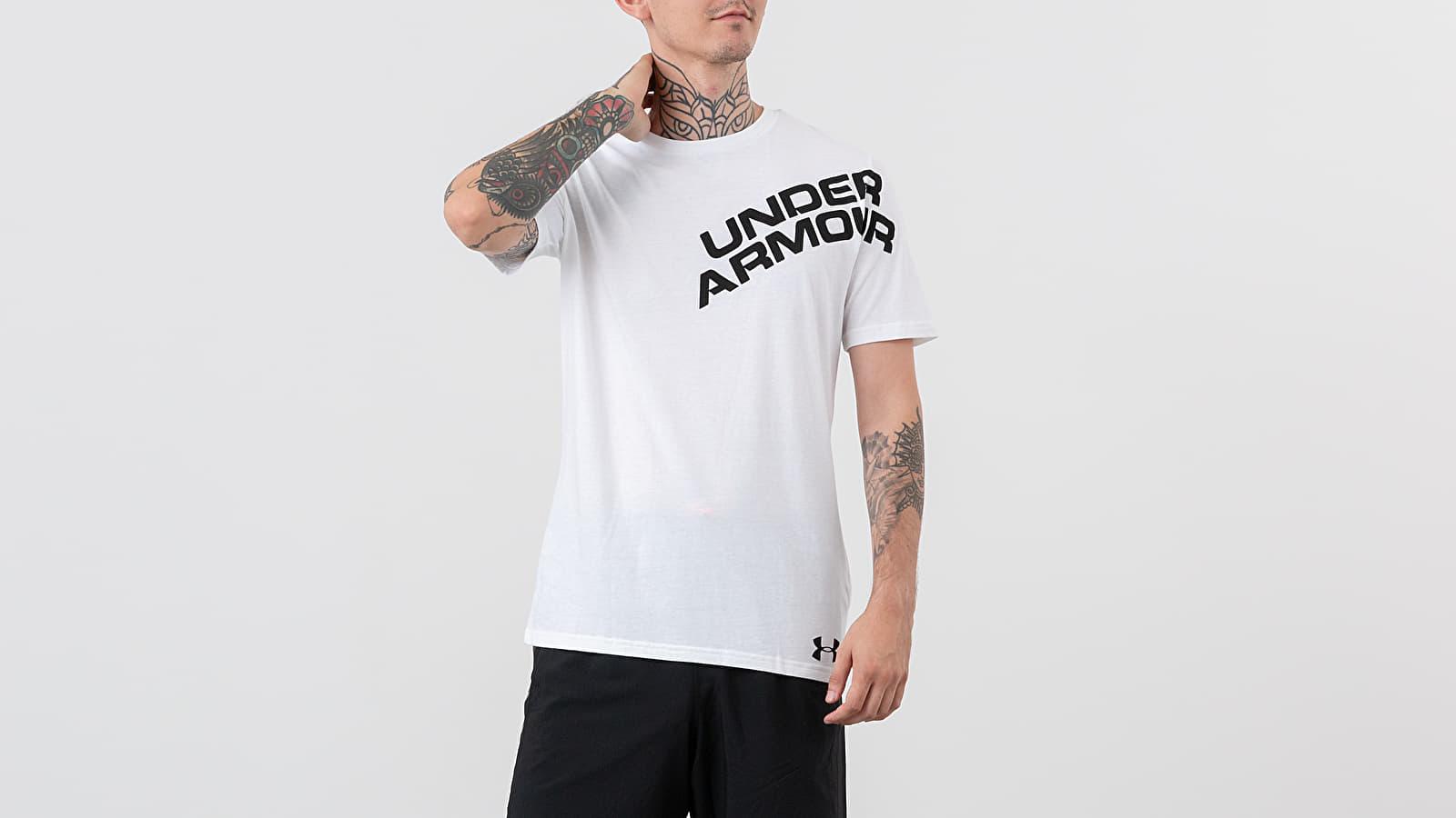 Under Armour Wordmark Shoulder Tee