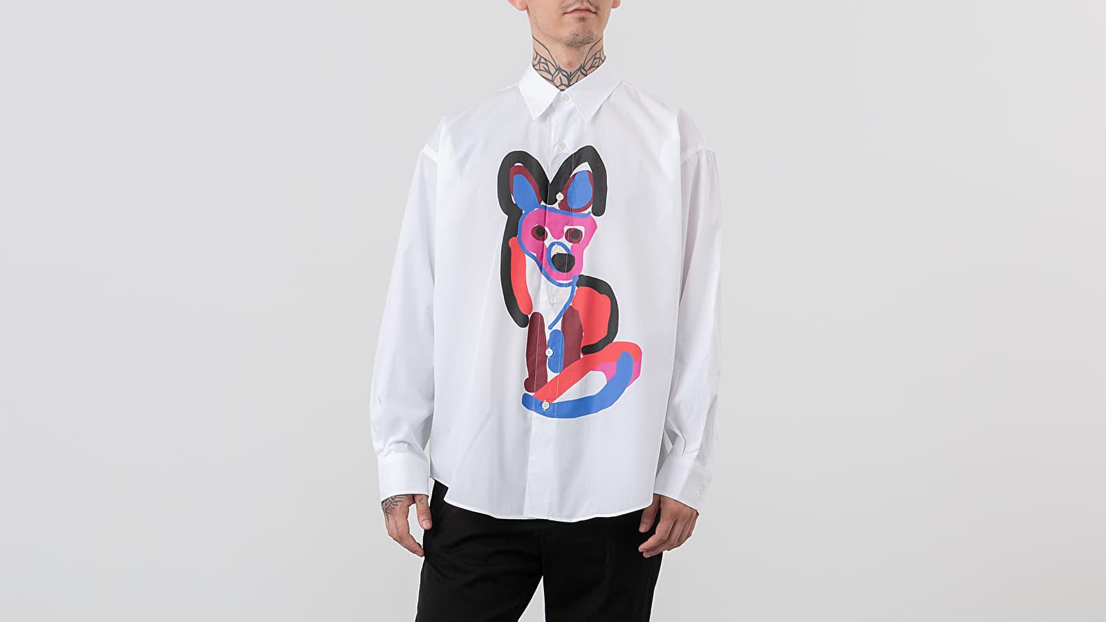 MAISON KITSUNÉ Acid Casual Fox Longsleeve Shirt