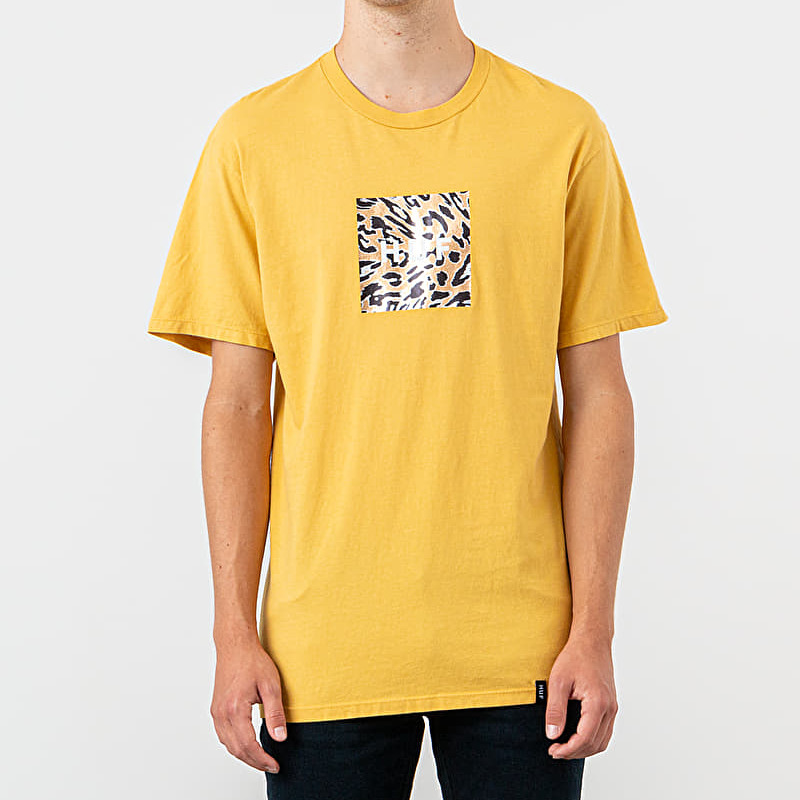 HUF Panthera Box Logo Tee Sauterne, Yellow