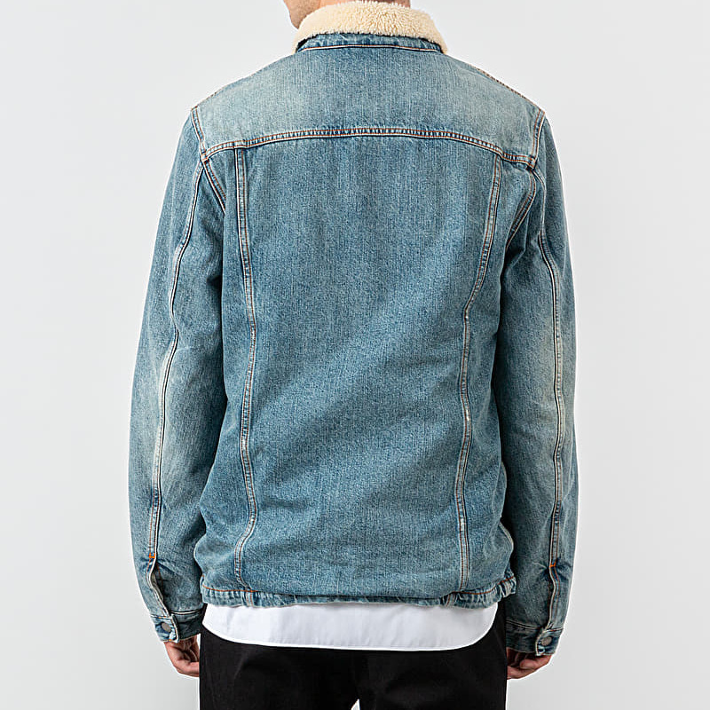 Nudie Jeans Lenny Jacket Favourite Shade Denim Blue