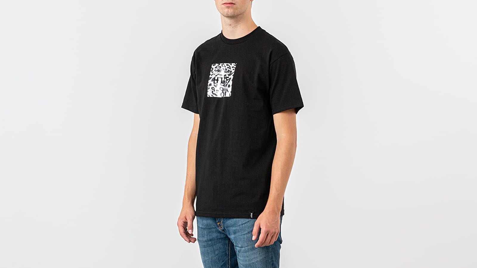 HUF Panthera Box Logo Tee
