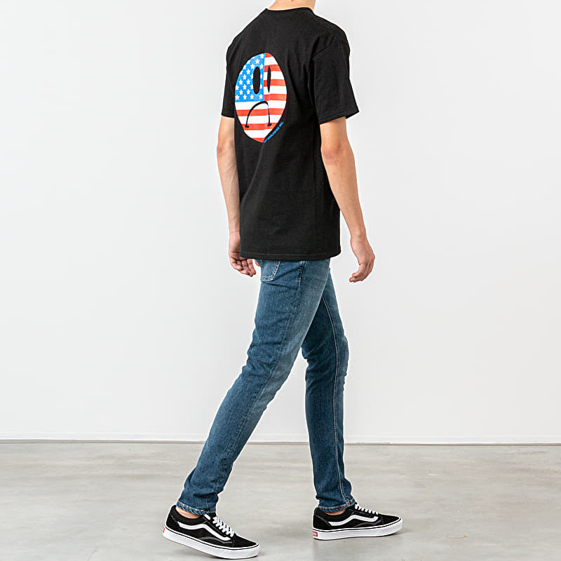 HUF Bummer USA Tee Black