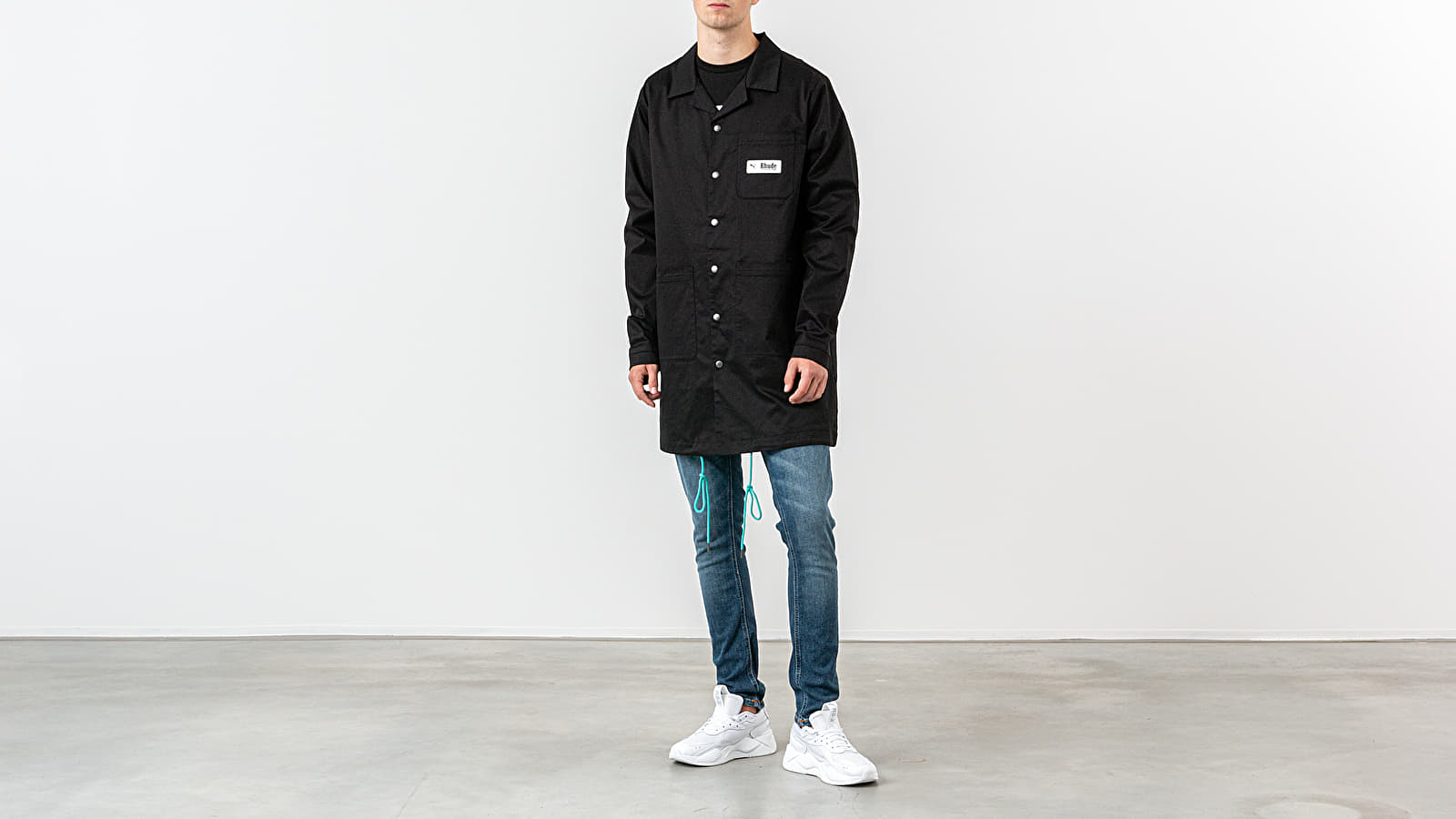 Manteaux Puma x Rhude Coat Black