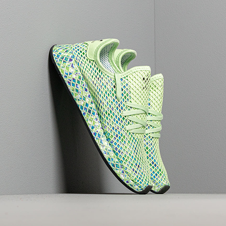 adidas Deerupt Runner W Glow Green/ Core Black/ Core Black