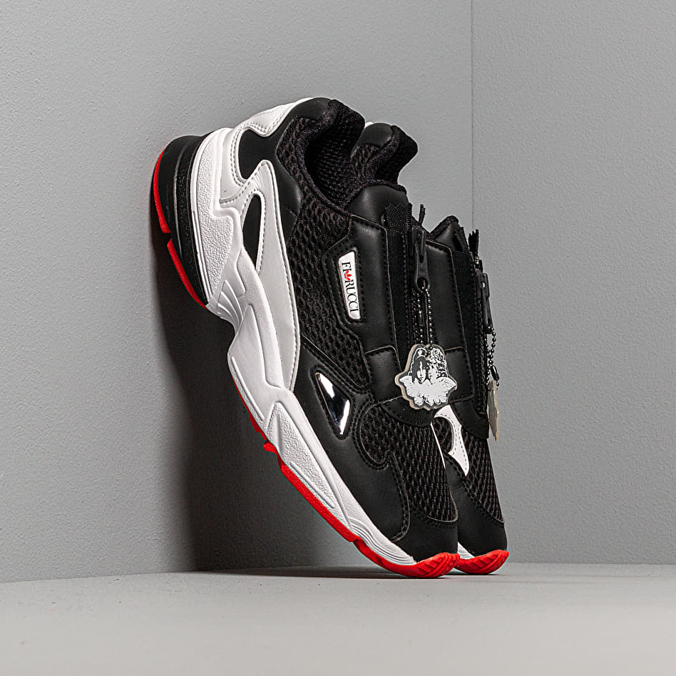 adidas by Fiorucci Falcon Zip W Core Black/ Ftw White/ Red EUR 41 1/3