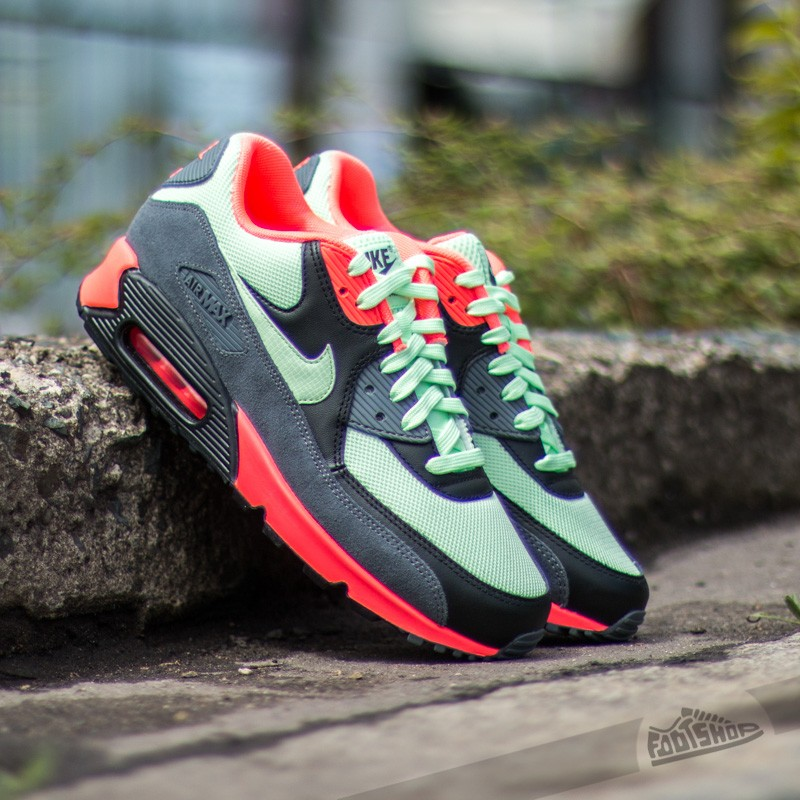 3cdf6eb738 Nike Air Max 90 Essential Vapor Green/Vapor Green-Black-Dark Grey ...