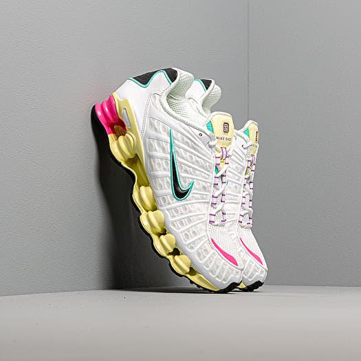 terremoto Calibre estudiar  Women's shoes Nike W Shox TL White/ Black-Luminous Green-Bright Violet |  Footshop