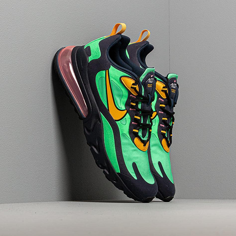 Nike Air Max 270 React Electro Green/ Yellow Ochre-Obsidian
