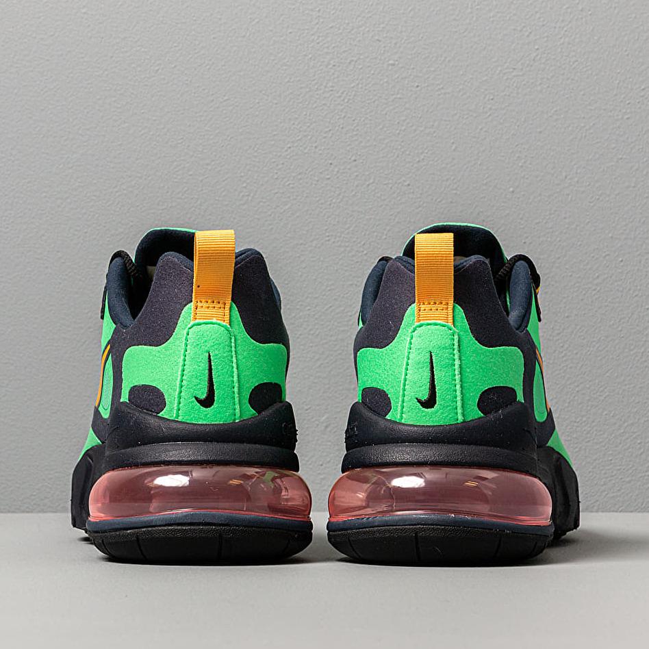 Nike Air Max 270 React Electro Green Yellow Ochre Obsidian