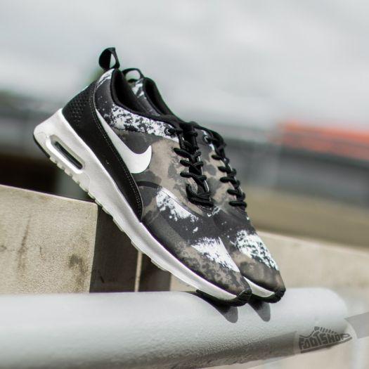 Nike WMNS Air Max Thea Print BlackWhiteDark Grey | Footshop