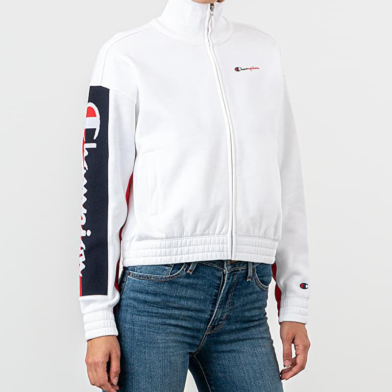 Champion Track Jacket White