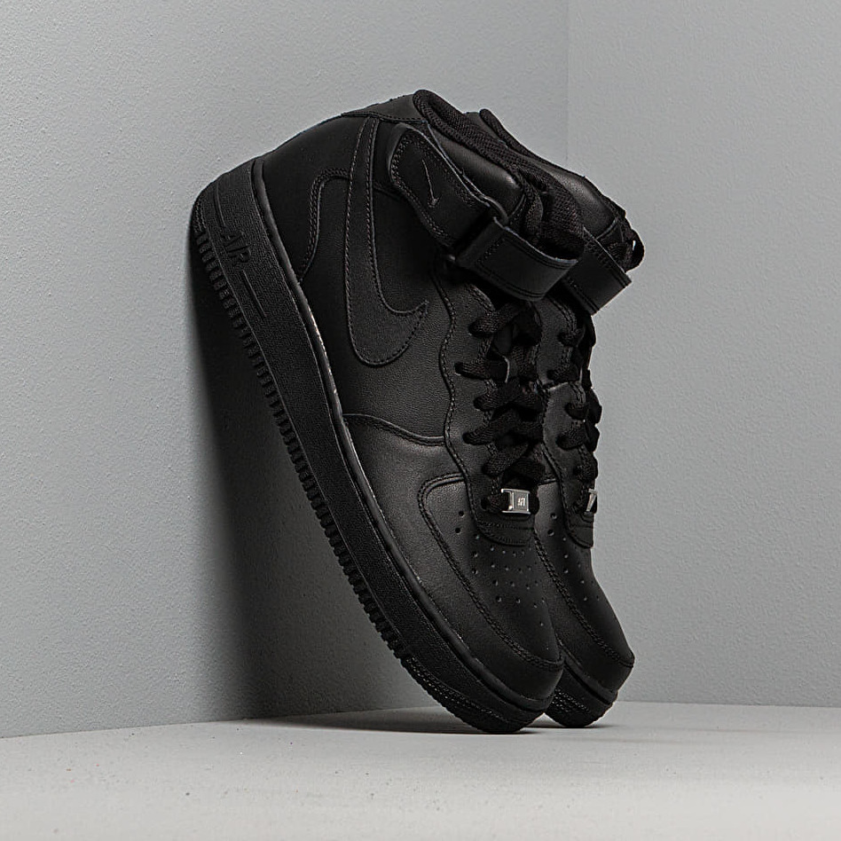Nike Air Force 1 Mid 07 Black BlackBlack