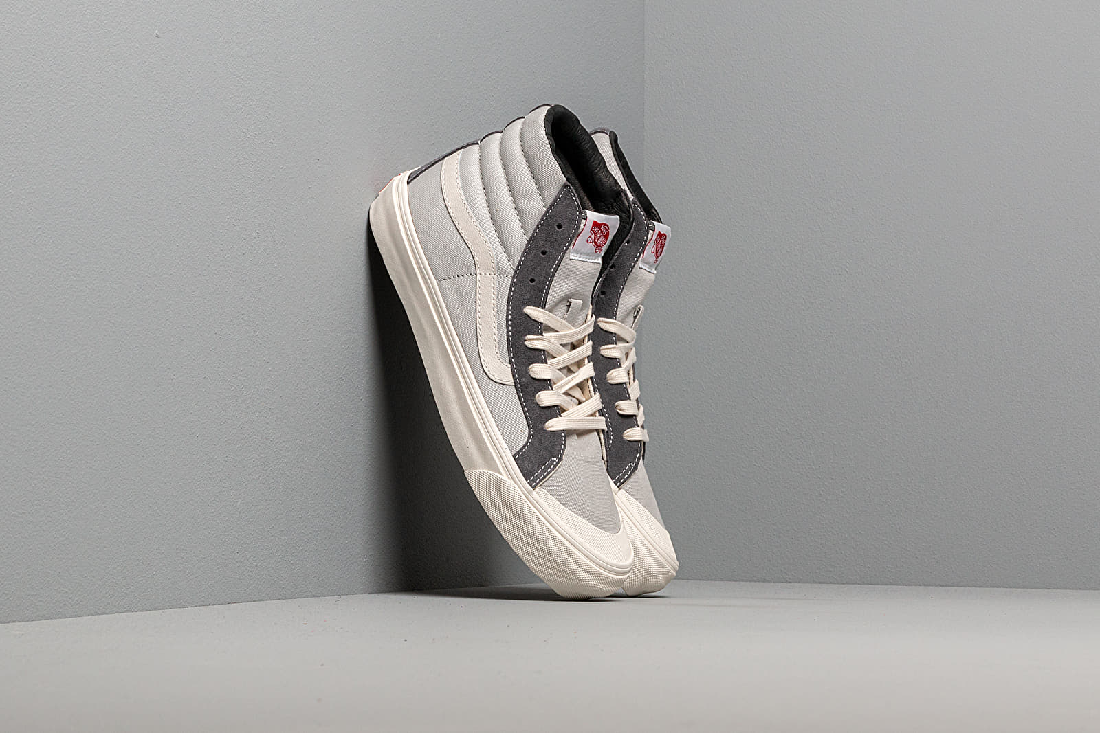 Men's shoes Vans OG Style 138 LX (Suede/ Canvas) Pearl Gray/ Multi