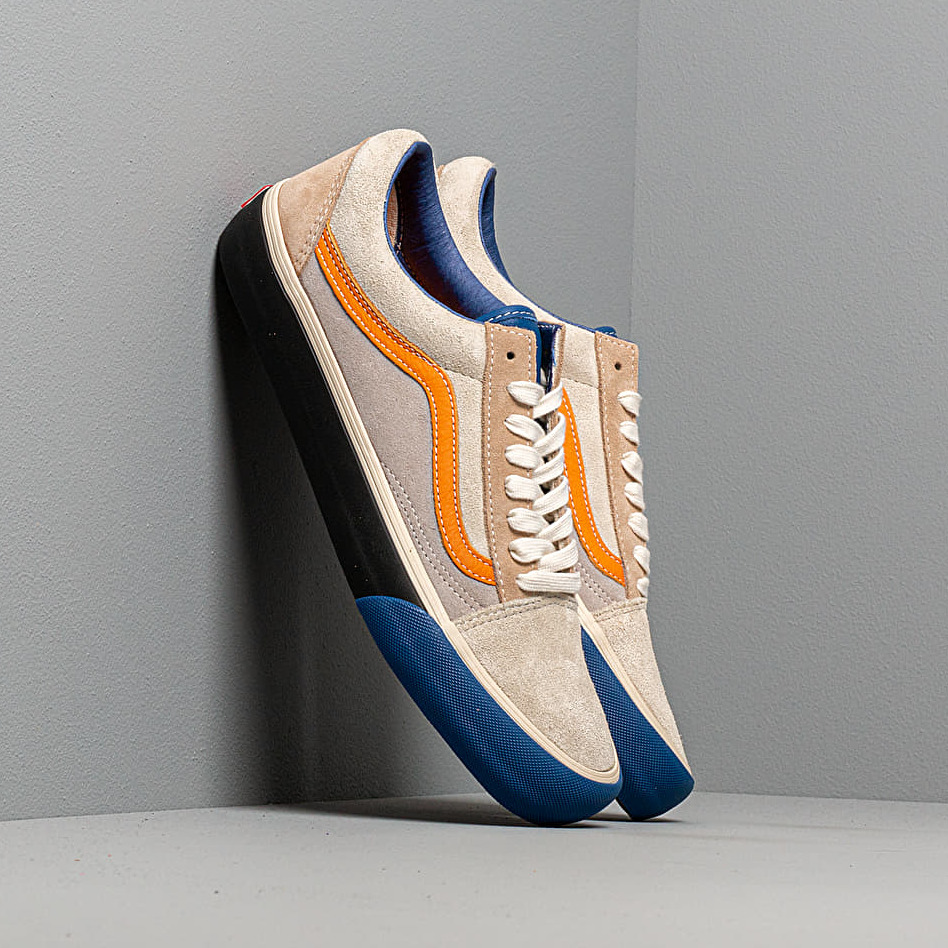 Vans Old Skool VLT LX (Suede/ Leather) True Blue/ Candied Ginger