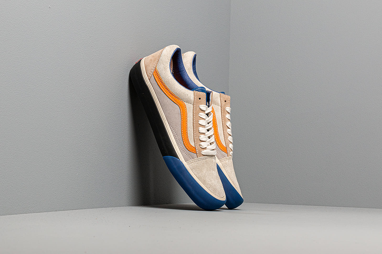 Buty męskie Vans Old Skool VLT LX (Suede/ Leather) True Blue/ Candied Ginger